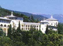 sanatorium ` Mountain `, Yalta, Crimea